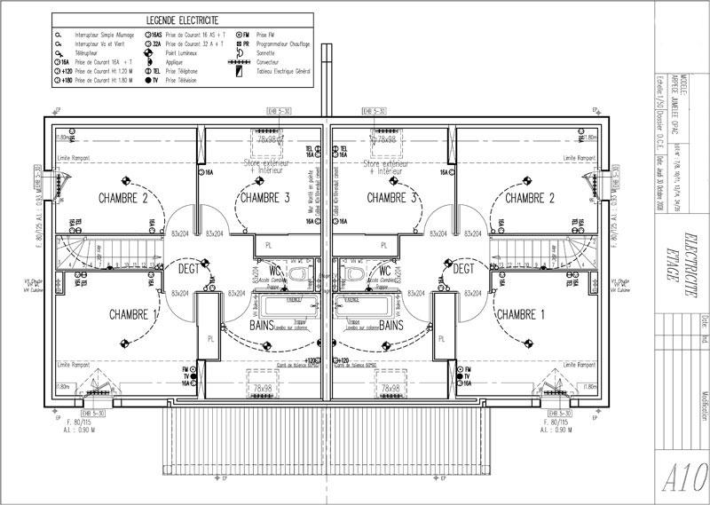 Plans Techniques Collectifs Et Maisons Individuelles